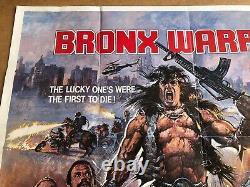 Bronx Guerriers D'origine Britannique Quad Cinema Affiche Du Film