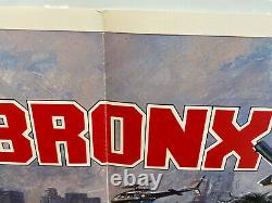 Bronx Warriors Original Uk British Quad 30x40 Affiche De Film 1983