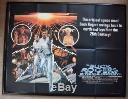 Buck Rogers Au 25ème Siècle (1979) Affiche De Film Uk Quad