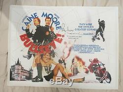 Bullseye 1990 Colombie Comédie Quad Affiche Film Roger Moore Michael Caine Signe