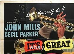 C'est Génial D'être Jeune Origine Quad Film Poster 1956 John Mills, Cecil Parker
