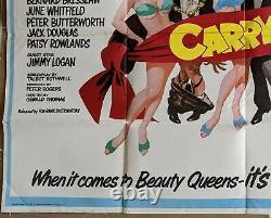 Carry On Girls 1973 Original Uk Quad Film Movie Affiche