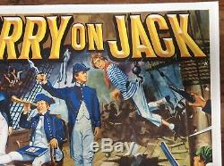 Carry Originale Jack, Royaume-uni Quad, Film / 1963 Affiche Du Film