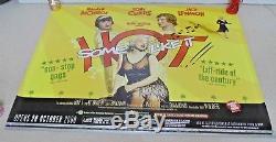 Certains Aiment Ça Chaud Affiche Cinématographique Originale Cinema Quad Bfi Rare Rare Marilyn Monroe