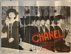 Chanel Solitaire Original Uk British Quad Film Poster 1981 Rare