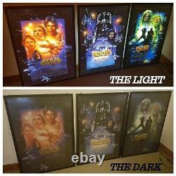 Cinema Lightbox Pour Les Affiches Originales De Films Ds Et Les Fonctions De Télécommande Wi-fi