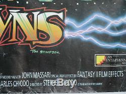 Clowns De Tueur De L'espace (lamine) 1988 Uk Affiche De Film De Cinéma Quad