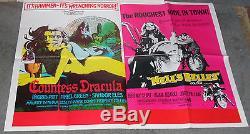 Comtesse Dracula / Hell's Belles Affiche Du Film Ingrid Pitt