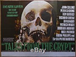 Contes De La Crypte (1972) Film Original Britannique / Affiche De Film, Horreur