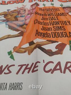 Continuer À Suivre Ce Camel 1967 Affiche De Cinéma Originale Du Royaume-uni Quad