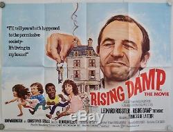 Damp Film Original Rising Royaume-uni Quad Affiche 1980