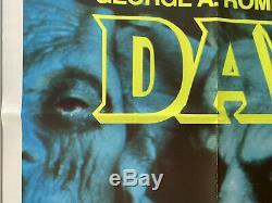 Day Of The Dead Original Britannique British Film Quad Poster 1985 Romero