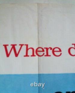 Deliverance Original Uk Quad Film Poster 1972