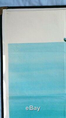 Delivrance (1972) D'origine Affiche Du Film Quad Britannique John Boorman Burt Reynolds