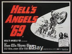 Des Hells Angels 69 Sonny Barger Motard Gang 1969 Quad Britannique