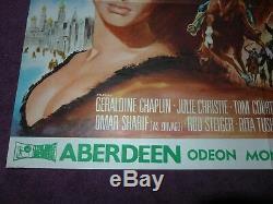 Docteur Jivago Aberdeen Ecosse Affiche Cinéma Film Quad Cru 28 X 39
