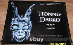 Donnie Darko British Quad Movie Poster Rolled Cult Film