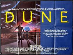 Dune 1984 Original 30x40 Uk Quad Movie Poster Kyle Maclachlan Sting David Lynch