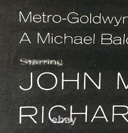 Dunkerque Originale Quad Affiche Du Film John Mills Studios Ealing 1958 Entoilée