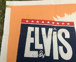 Elvis Gi Blues Original Uk Quad. Affiche De Film. 30x40