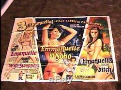 Emmanuelle Triple Combo Britannique Quad Laura Gemser Great