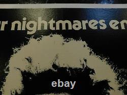 Eraserhead Original 1979 Movie Poster, British Quad, C8.5 Very Fine To Near Mint