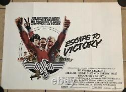 Escape To Victory Original Uk Movie Quad (1981)