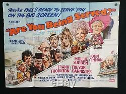 Êtes-vous Servis D'origine (1977) Affiche Du Film Quad Au Royaume-uni