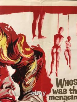 Experiment In Terror (the Grip Of Fear) Uk British Quad (1962) Original Film