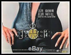 Fille Sur Une Moto Nue Sous Le Motard En Cuir Biker Sexy Uk Quad Movie Poster 1968