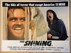 Film Brillant Original Royaume-uni Affiche Entoilée Quad Withcert 1980