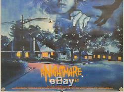 Freddy De L'orme (1984) Mint Laminees Une Feuille Affiche De Film De Cinéma Quad