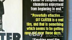 Get Carter (1971) Affiche Originale Du Film De Quad Britannique Rolled Unfolded -v. Rare -caine