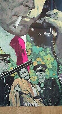 Get Carter (1971) Affiche Originale Du Quad Britannique Michael Caine Arnaldo Putzu