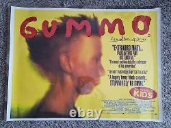 Gummo Original British Quad Movie Poster 30 X 40 Réalisé Par Harmony Korine