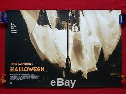 Halloween Mondo Affiche De Cinéma Originale Jock Art Print Variante Quad Michael Myers