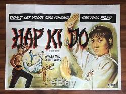 Hapkido 1972 Arts D'origine Britannique Quad Movie Poster Martial