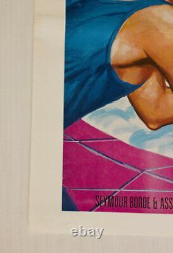 Hollywood Hot Tubs Original 1984 Royaume-uni Quad Film Poster Cinéma Chantrell Artwork