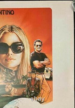 IL Était Une Fois Dans Hollywood Original Quad Film Poster Tarantino 2019