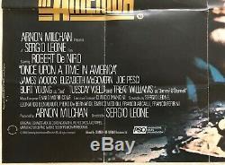 IL Était Une Fois En Amérique Affiche Originale Du Film Quadruple 1984 Robert De Niro Feref