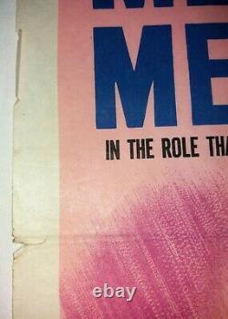 Jamais Le Dimanche Affiche De Cinéma Originale Uk Quad 1960 Melina Mercouri