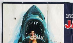 Jaws 2 Original Film Uk Quad Poster 1978