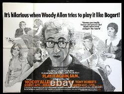 Jouer À Nouveau Sam Woody Allen Bogart 1972 British Quad