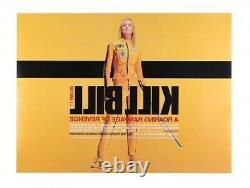 Kill Bill Vol. 1 Quentin Tarantino Original Quad Film Poster Double Sided