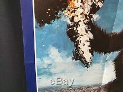 King Kong (1976) Film Original Uk Quad Rare Affiche
