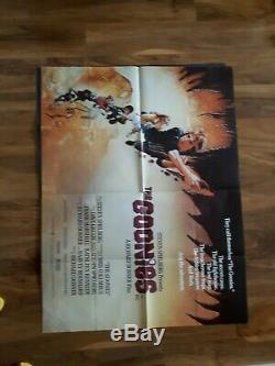 L'affiche Du Film Goonies 30x40 Couleur Quad Aucun Papier Manquant Graphiques Bonne
