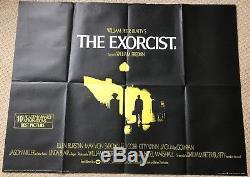 L'exorciste Original Uk Quad Film Movie Poster