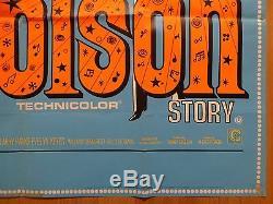 L'histoire De Jolson (1946) Rr Affiche Originale De Film / Film Quad Uk, Al Jolson