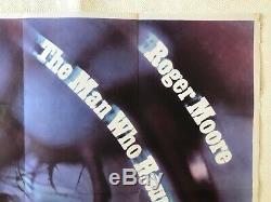L'homme Qui Hantait Lui-même D'origine Britannique Du Film Poster Quad 1970 Roger Moore