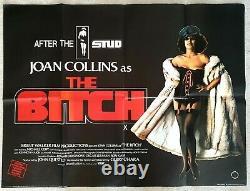 L'original Bitch 1979 Uk Quad Film Affiche 30x40 Joan Collins
